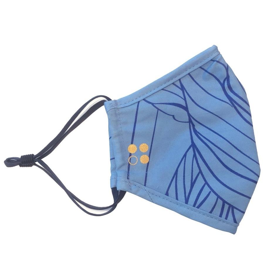 Kleur mondmasker: Lichtblauw