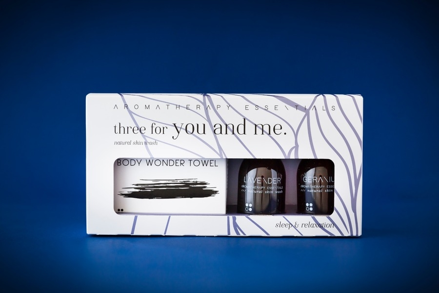 Geur geschenksets three for you and me: Sleep & Relaxation: Lavender + Geranium